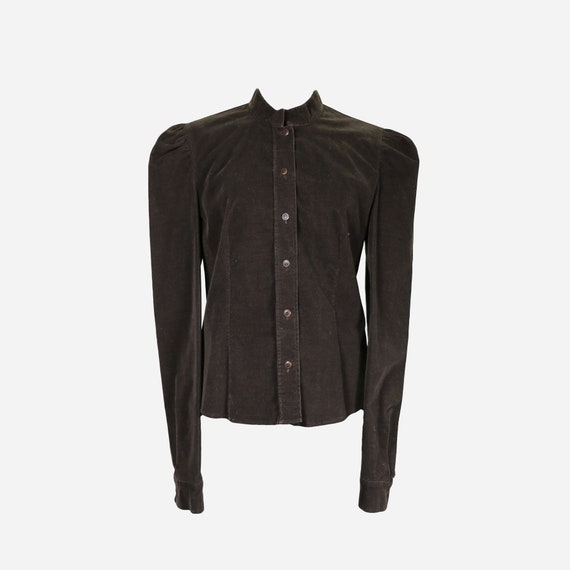MIU MIU - Leather shirt