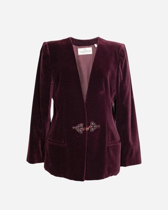VALENTINO - Cotton blazer