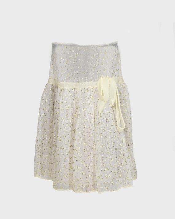VINTAGE - Floral 50s skirt
