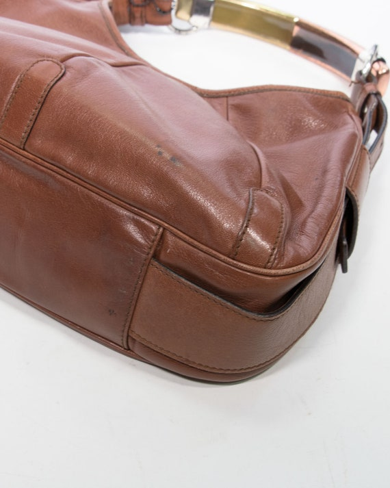 YVES SAINT LAURENT - leather bag - image 2