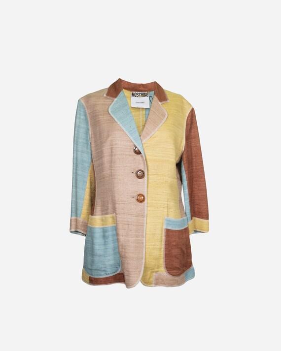MOSCHINO - Silk blazer