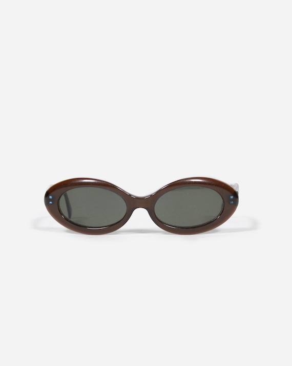 MOSCHINO - Oval sunglasses