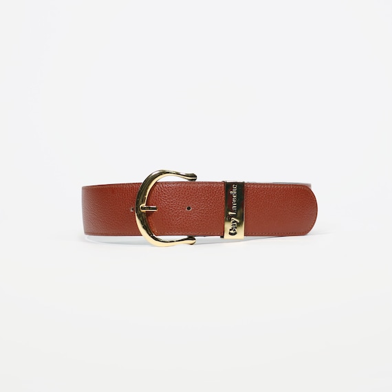 GUY LAROCHE - Leather belt
