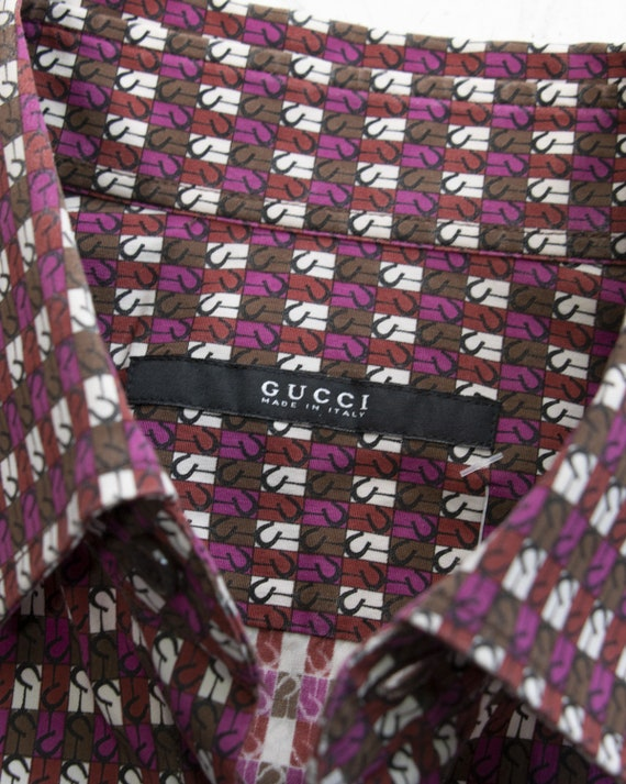GUCCI - Cotton shirt - image 4