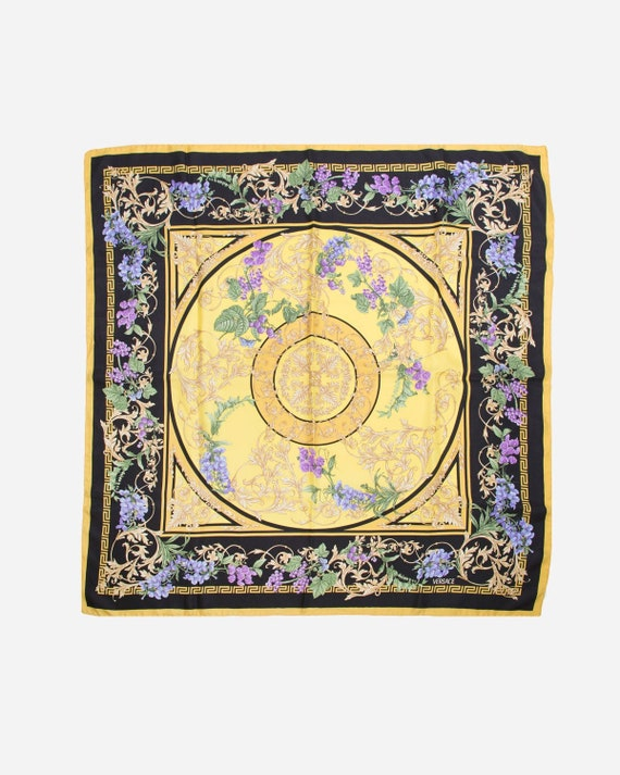 VERSACE - silk scarf