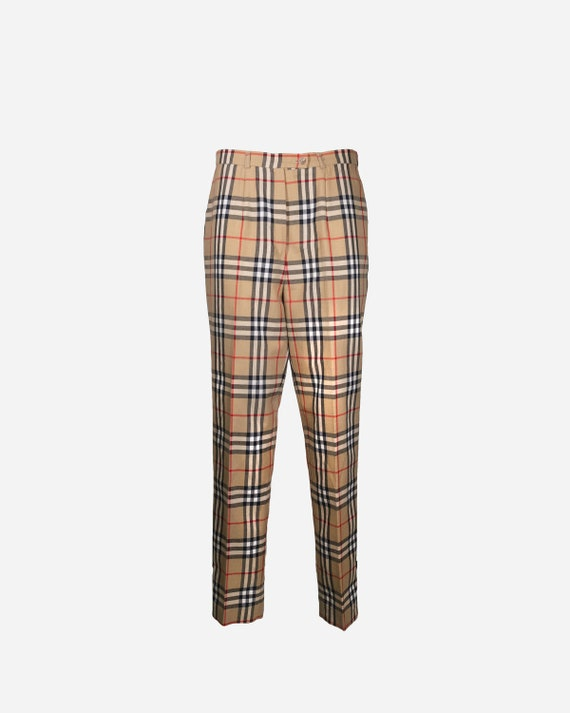 BURBERRY - Viscose pants
