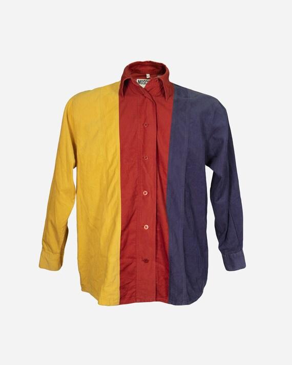 MOSCHINO - Colorblock shirt