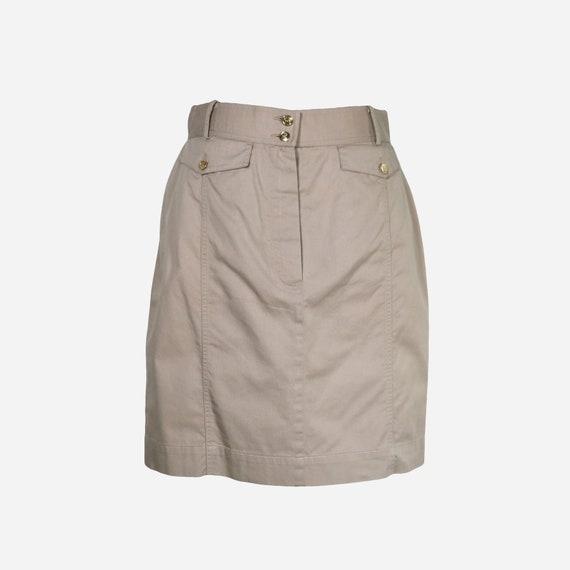 CHANEL - Cotton skirt