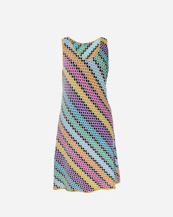 MISSONI - Multicolor minidress