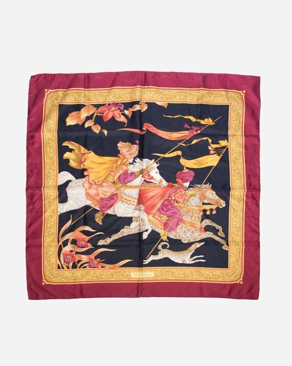 SALVATORE FERRAGAMO - Silk scarf