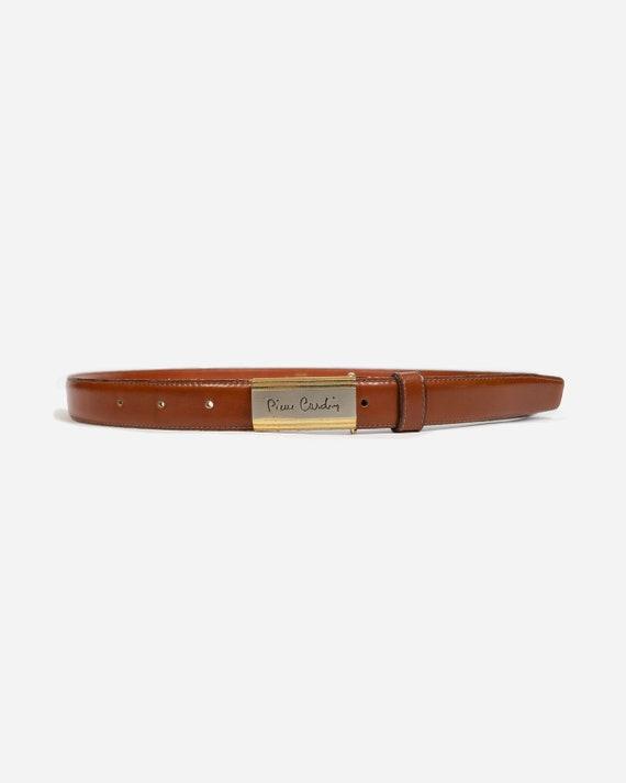 PIERRE CARDIN - Leather belt