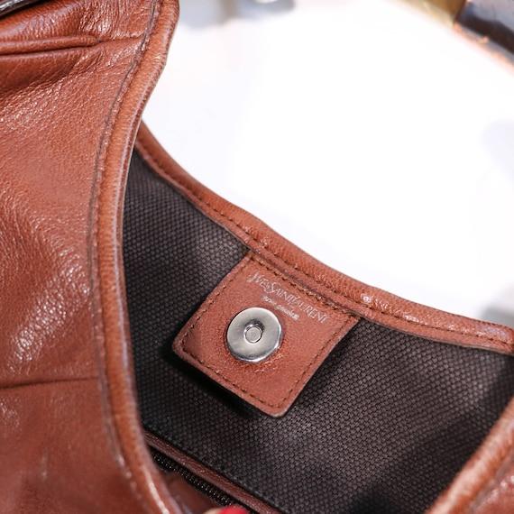 YVES SAINT LAURENT - leather bag - image 6