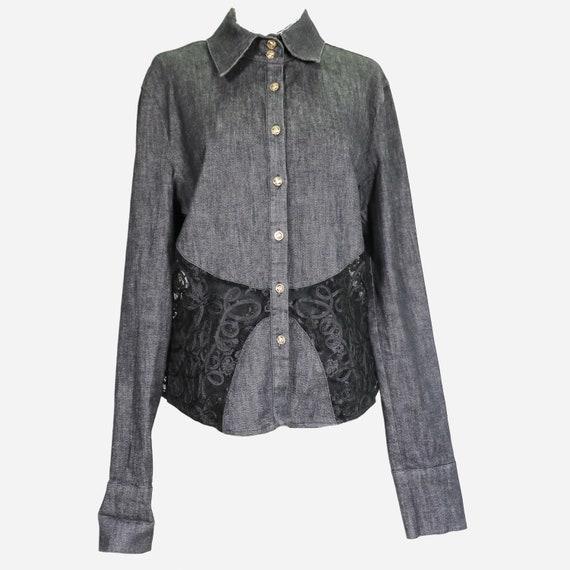 VERSACE - Denim shirt