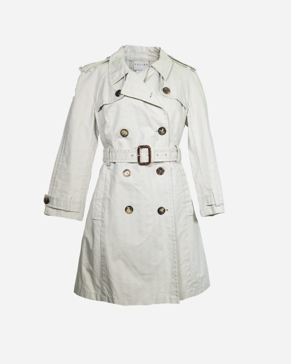 CELINE - Cotton trench coat
