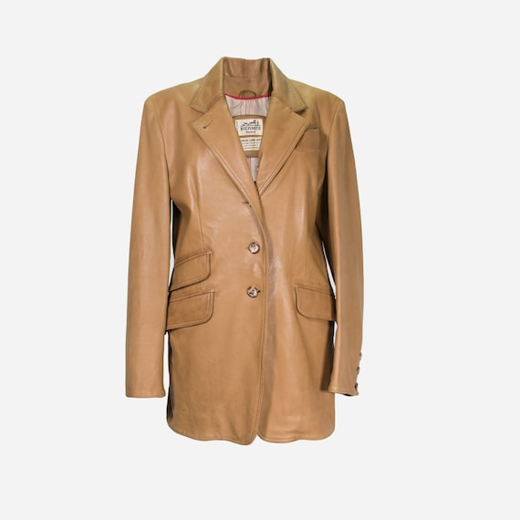 HERMÈS - Leather jacket