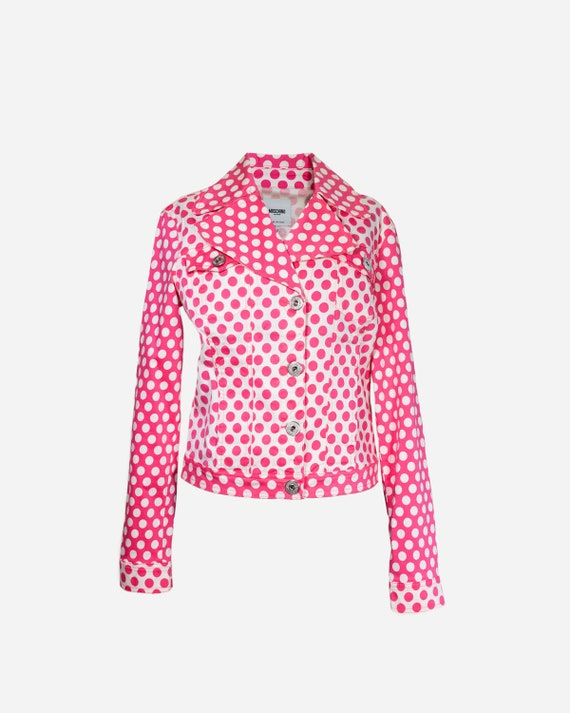 MOSCHINO - Polka dots Jacket