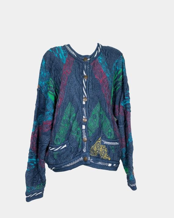 COOGI - Cotton colorful cardigan
