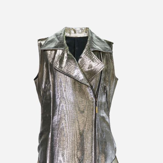 Gold laminated dress GIVENCHY Gold GIVENCHY qwtZ6E