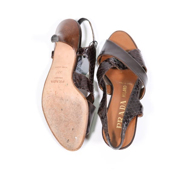 Leather Leather sandals PRADA PRADA sandals Leather sandals PRADA daB7Bq