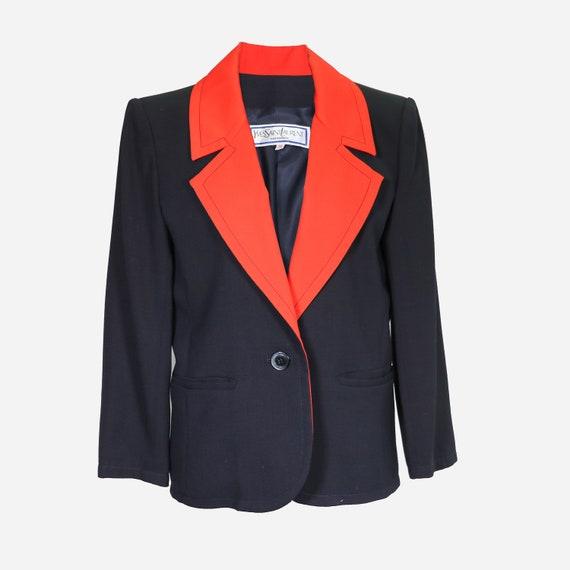 YVES SAINT LAURENT - Cotton suit