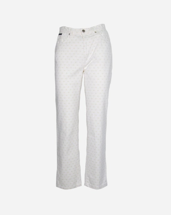VALENTINO - Logated trousers