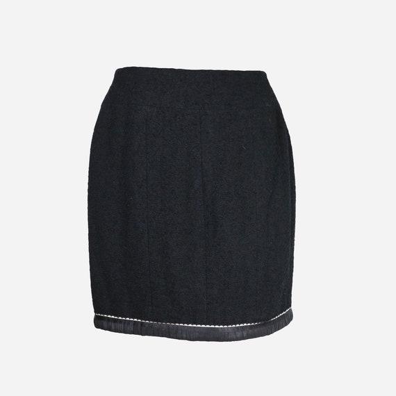 CHANEL - Wool skirt