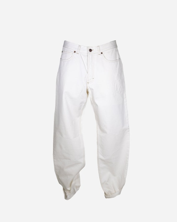 BURBERRY - Cotton pants