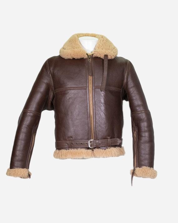 BOMARDIER - Sheepskin coat