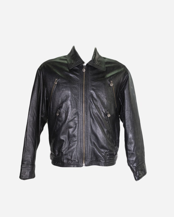 GIANNI VERSACE - Leather jacket