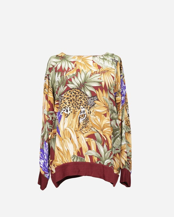 SALVATORE FERRAGAMO - Silk t-shirt