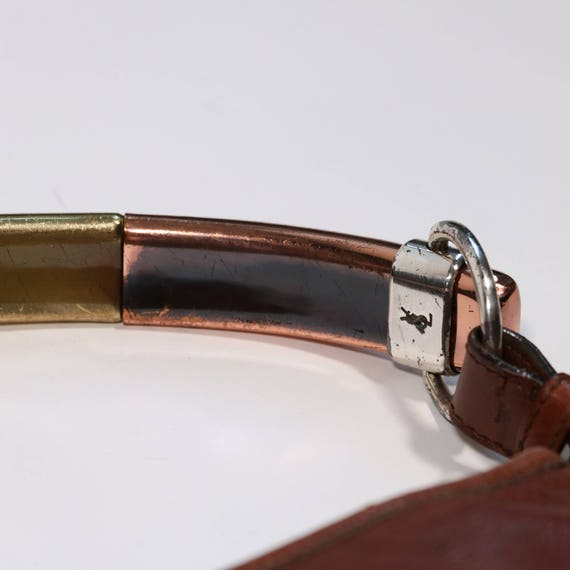 YVES SAINT LAURENT - leather bag - image 4