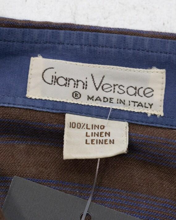 VERSACE - Linen shirt  - image 2