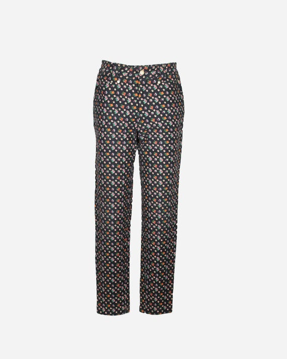 VERSACE - Floral pants