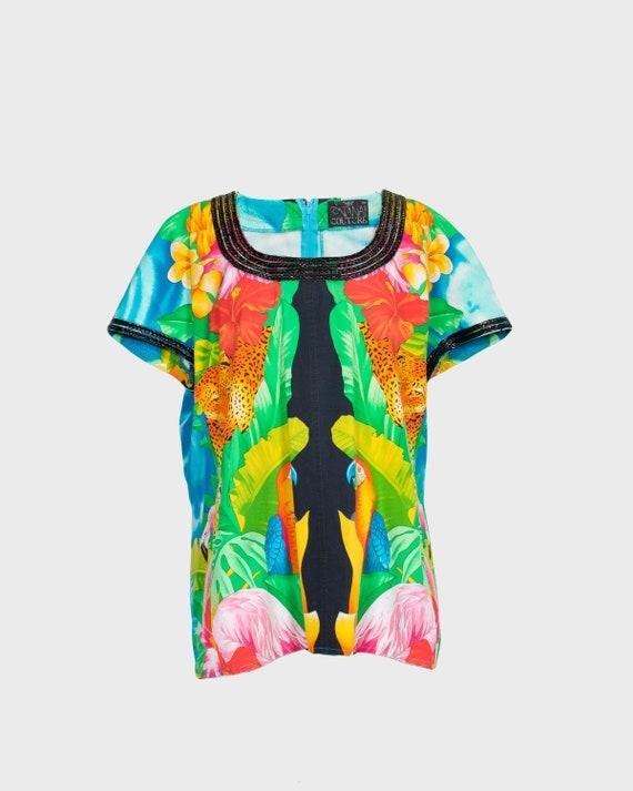 FONTANA COUTURE - Tropical shirt