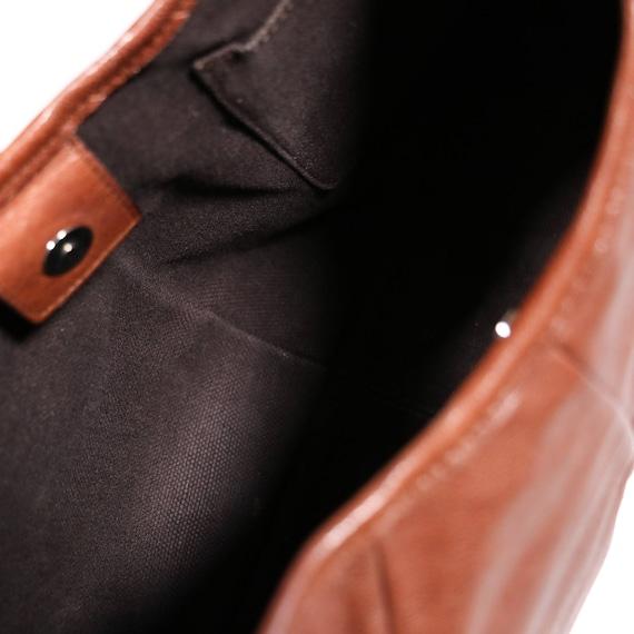 YVES SAINT LAURENT - leather bag - image 8