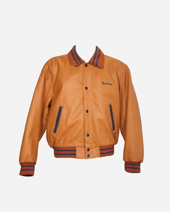 REDSKINS - Leather college jacket