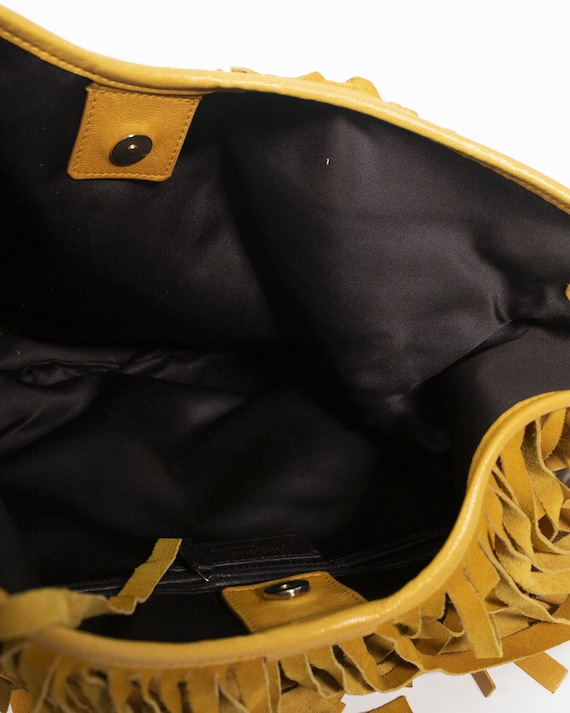 YVES SAINT LAURENT - Fringed bag - image 8