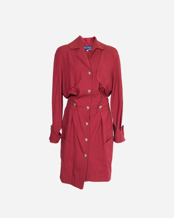 THIERRY MUGLER - Wool dress
