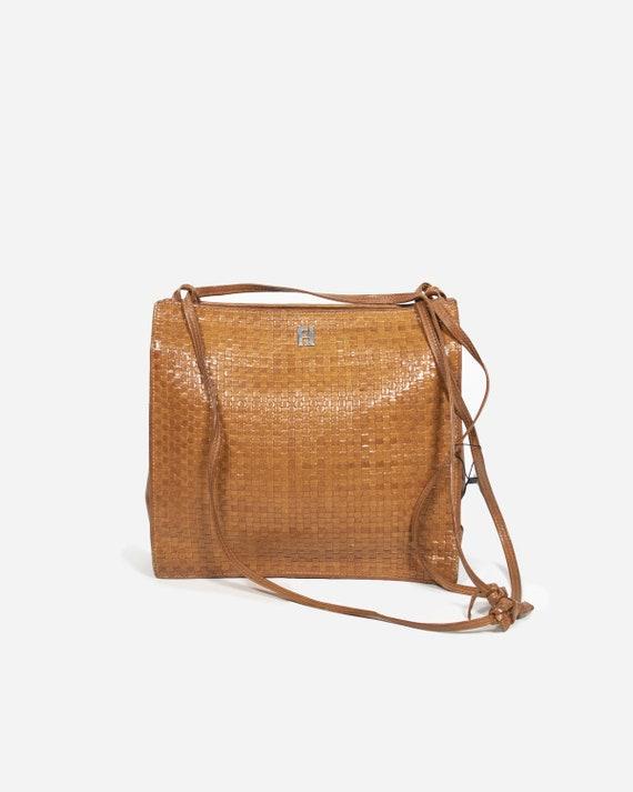 FENDI - Brown leather bag