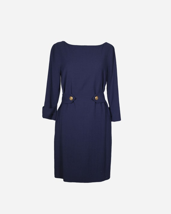 MOSCHINO - Blu dress