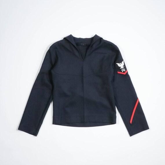 VINTAGE - Sailor wool shirt
