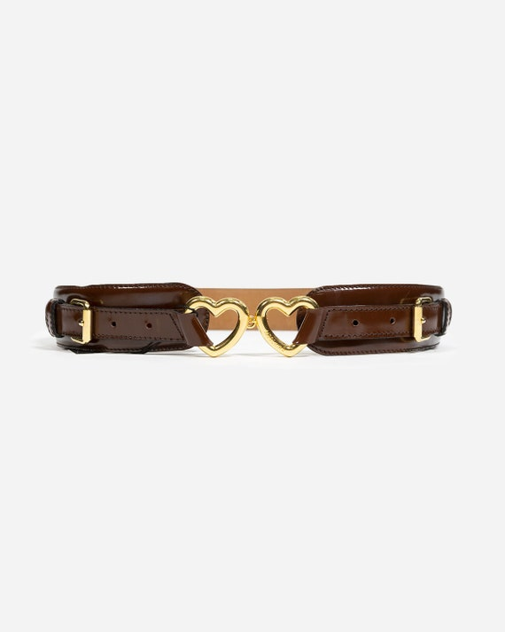 MOSCHINO - Leather belt