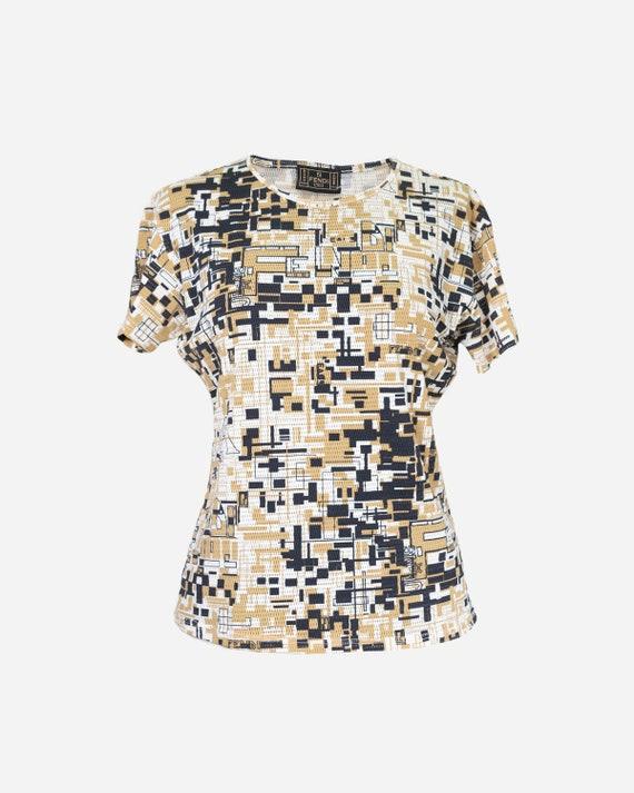 FENDI -  logated t shirt