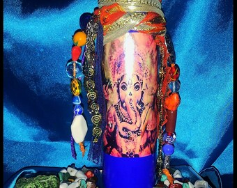 Lord Ganesh Prayer Candle