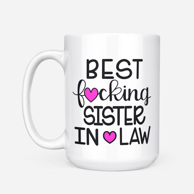 Schwester In Recht Geschenk Schwester In Gesetz Becher | Etsy