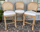 Lightwood coastal barstools, Tropical bar stools, Key west style bar stools, Rattan barstool, Boho barstools, Bamboo barstools, Woven