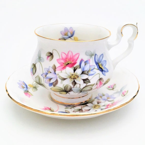 Vintage Royal Albert Tea Cup Saucer In Byron From Etsy