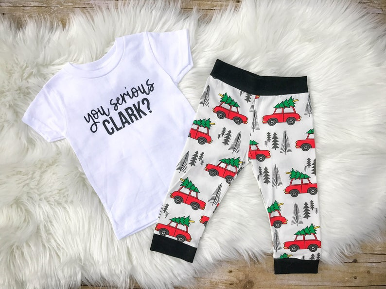 d5e5097a5 Christmas vacation outfit you serious clark Griswold baby | Etsy