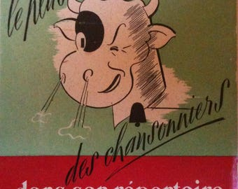 Most Cow of the Cabaret artists in Its directory (extracted from Third and Weasel) Jean Marsac, dedicated