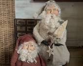 DIGITAL Cinnamon Creek Classic Santa PATTERN - 2 patterns in one - Standing and Sitting
